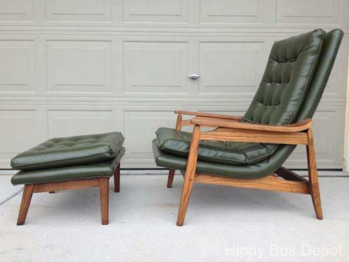 & Mid Century Lounge Chair | eBay