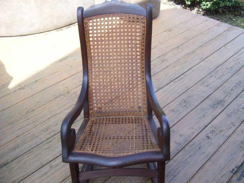 Rattan Rocking Chair | EBay