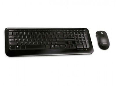 Microsoft Wireless Desktop 800 - Tastaturen (RF Wireless, Schwarz, Windows XP/Vi (Microsoft Wireless Desktop 800)