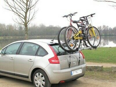 Portador de La Siepa Easy 300-2 Bicicletas - Fijación Trasero En Portón