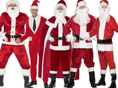 Weihnachten Weihnachtsmann Kostüm Deluxe Professionell Santa Anzüge (Weihnachtsmann Anzüge)
