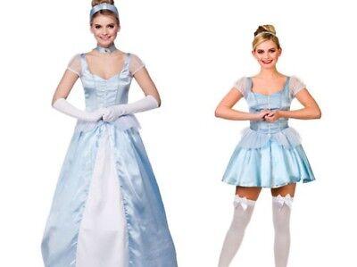 Erwachsene Cinderella Kostüm Damen Märchen Welt Buchwoche Damen Kostüm ()