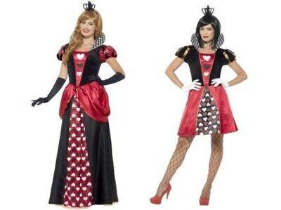 Königin der Herzen Alice Im Wunderland Damen Kostüm Märchen Kostüm