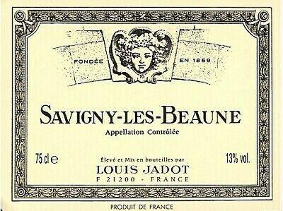 Juego 6 Btles Savigny-Les-Beaune, Louis JADOT 2007 Blanco