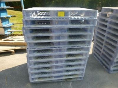 Orbis 40 X 48 Hdsc Plastic Stackable Pallets Hdpe 4-way Entry 40 Base Dime