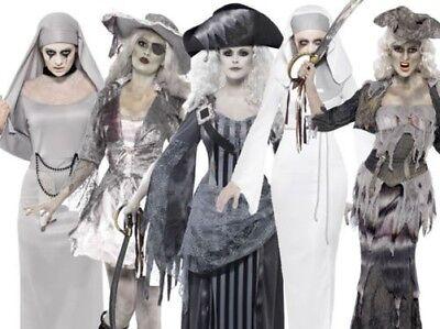 enkostüm Geisterpirat Nonne Kostüm Halloween Outfit (Nonne Kostüm Geist, Halloween)