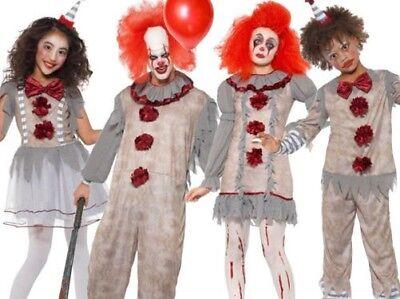 m für Erwachsene & Kinder Halloween Horror Gruseliges Kostüm (Vintage Halloween Kostüme Kinder)