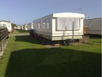 2 BEDROOMS (4/6) BERTH CARAVAN FOR HIRE/RENT/HOLIDAY, SKEGNESS MON 3RD - SAT 8TH APRIL £80