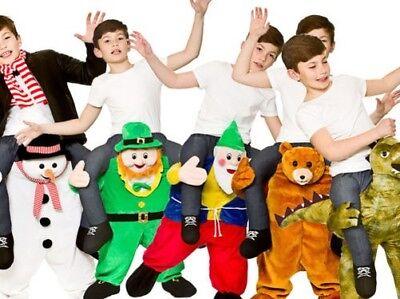 Trage Mich Maskottchen Kinder Neuheit Kostüm Maskottchen Kleidung Jungen Mädchen ()