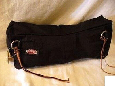 NEW Weaver Horse Tack Black Trail Saddle Cantle Bag Large