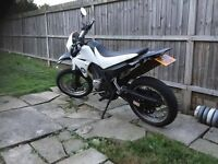 Yamaha xt 125cc on road road legal crosser learner legal lplate not kx cr yz rm ktm