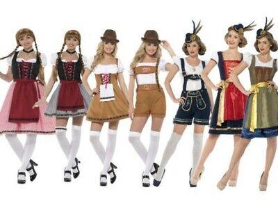 Oktoberfest Bier Tavernen-Maid Bayerische Damen Kostüm Kostüm Deutsche Neu