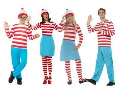 Wo Ist Wally Wenda Erwachsene Jungen Mädchen Lizenziert - Wo Ist Wally Kostüm Mädchen