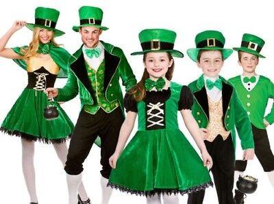 isch St.Patrick's Day Outfit Kostüm Kobold Neu (St Patrick Kostüme)