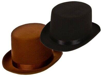 Viktorianisch Zylinder Gentlemans Kostüm Zubehör Ring Master Erwachsene (Er Man Kostüm Erwachsene)