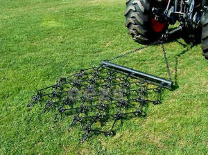 V 4x4  Drag Chain Harrow Lawn Landscape Arena ATV Rake