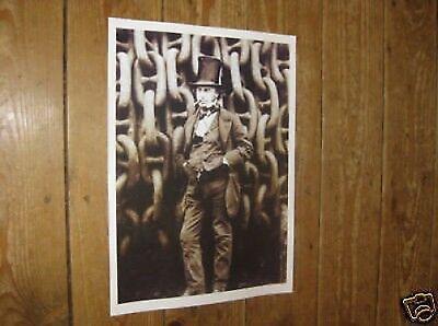 Isambard Kingdom Brunel Bristol POSTER
