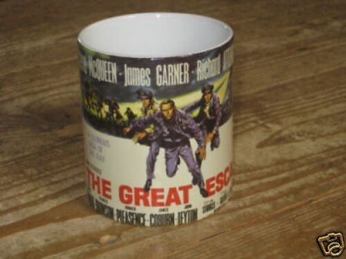 Steve McQueen The Great Escape Advertising MUG