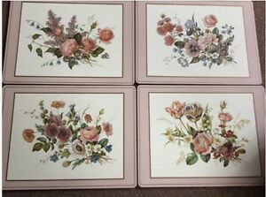 8 Pimpernel placemats