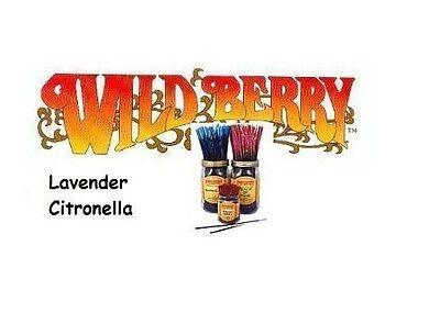 Wild Berry 'Lavender Citronella' Incense Sticks (N61)