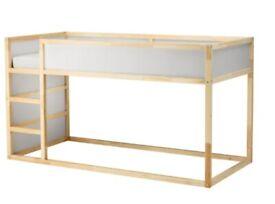 KURA Reversible bed, white/pine, 90x200 cm WAS £129 IKEA Edinburgh #bargaincorner