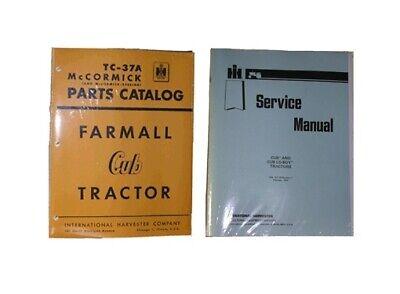 Farmall Cub Service Maintenance Manual Parts Catalog Ih