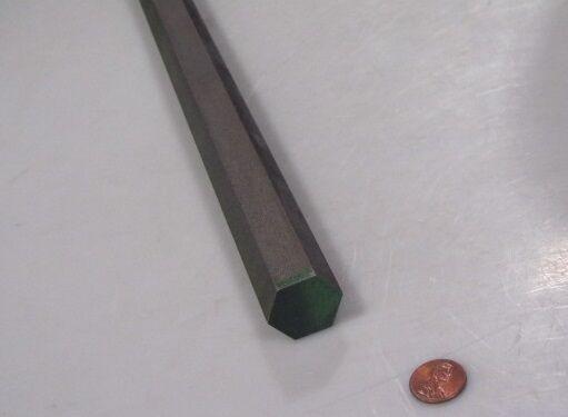 "4140/4142 Carbon Steel Hex Rod 1"" Hex  x 3 Foot Length"