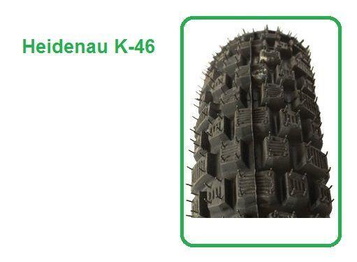 Motoradreifen 2.50-19 41M TT K-46 HEIDENAU Enduro