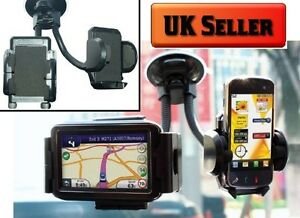 Car-Windscreen-Twin-Holder-for-Sat-Nav-ipod-Mobile-Phones-and-PDAs-SWGH2