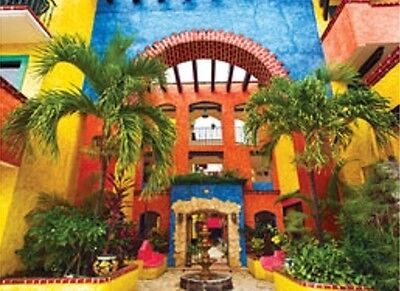 - Jigsaw puzzle Building Colorful Courtyard 500 piece NEW