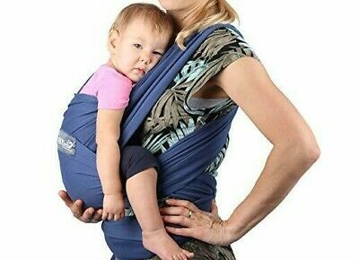 Neotech Care Baby Wrap Carrier Cotton Breathable Adjustable for Infant 33# limit