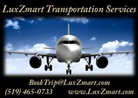 LuxZmart Airport and Other Personalized Transportation Services