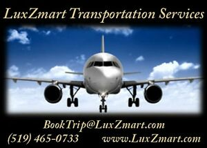 LuxZmart Transportation Services - Pearson Airport etc. Kitchener / Waterloo Kitchener Area image 2