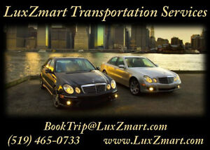 LuxZmart Transportation Services - Pearson Airport etc. Kitchener / Waterloo Kitchener Area image 1