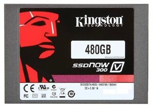 Kingston 480GB SSDNow V300 Solid-State Drive - 2.5in. SATA - 6GB