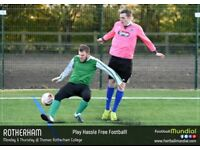 Rotherham 6 a side leagues - new seasons start March