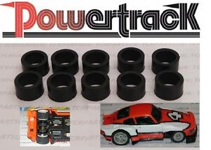 5 Pair Matchbox Powertrack Back Tyres Brand New Factory Stock