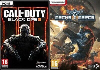 Call of Duty Black Ops III & mechs+mercs black talons new&sealed