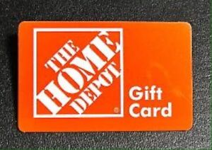 Home Depot gift card $718.66