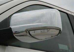 Chrome mirror covers 09-12 Dodge Ram 1500 WITH Turn signal