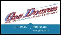 Furnace, A/C, Fireplace, Gas Dryer, Gas Stove...........