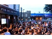 ASSISTANT MANAGER FOR BUSY EAST LONDON PUBLIC HOUSE REQUIRED