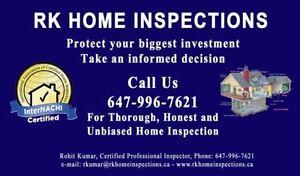RK Home Inspections - GTA, Toronto, Mississauga, Brampton,Milton