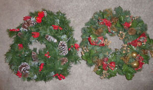 4 Christmas wreaths - as is $ 3 ea or all for $ 10 Kitchener / Waterloo Kitchener Area image 2