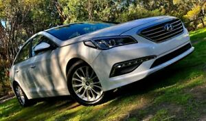 2016 Hyundai Sonata LF3 MY17 Active Ice White 6 Speed Sports Automatic Sedan Reynella Morphett Vale Area Preview