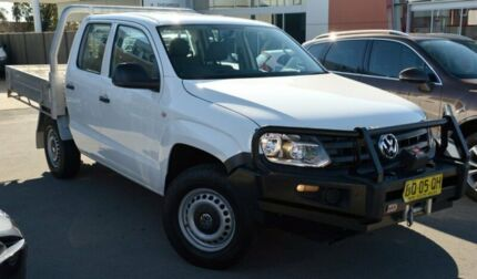 2012 Volkswagen Amarok 2H MY13 TDI400 4Mot Candy White 6 Speed Manual Cab Chassis Pearce Woden Valley Preview