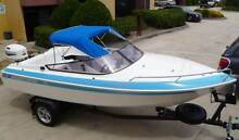 Haines Signature 1550RE 90hp Johnson Oil Injected, fish or ski Melbourne Region Preview