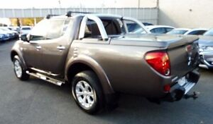 2011 Mitsubishi Triton MN MY11 GLX-R Double Cab Bronze 5 Speed Sports Automatic Utility Lilydale Yarra Ranges Preview