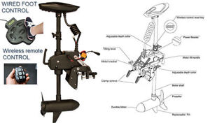 NEW Trolling Motor with Wireless Remote Control 55 lb on SALE!!