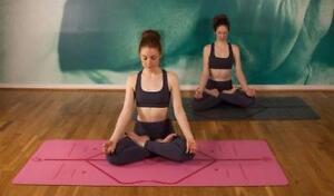Liforme Yoga Mats - ultra-grippy & super-absorbent
